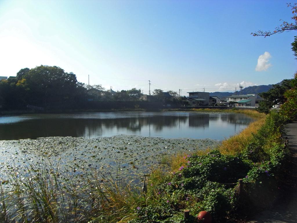 上原堤(宗旦池)