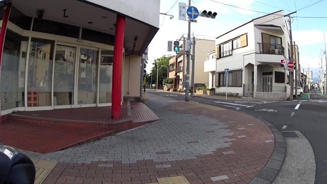 江尻宿 魚町交差点