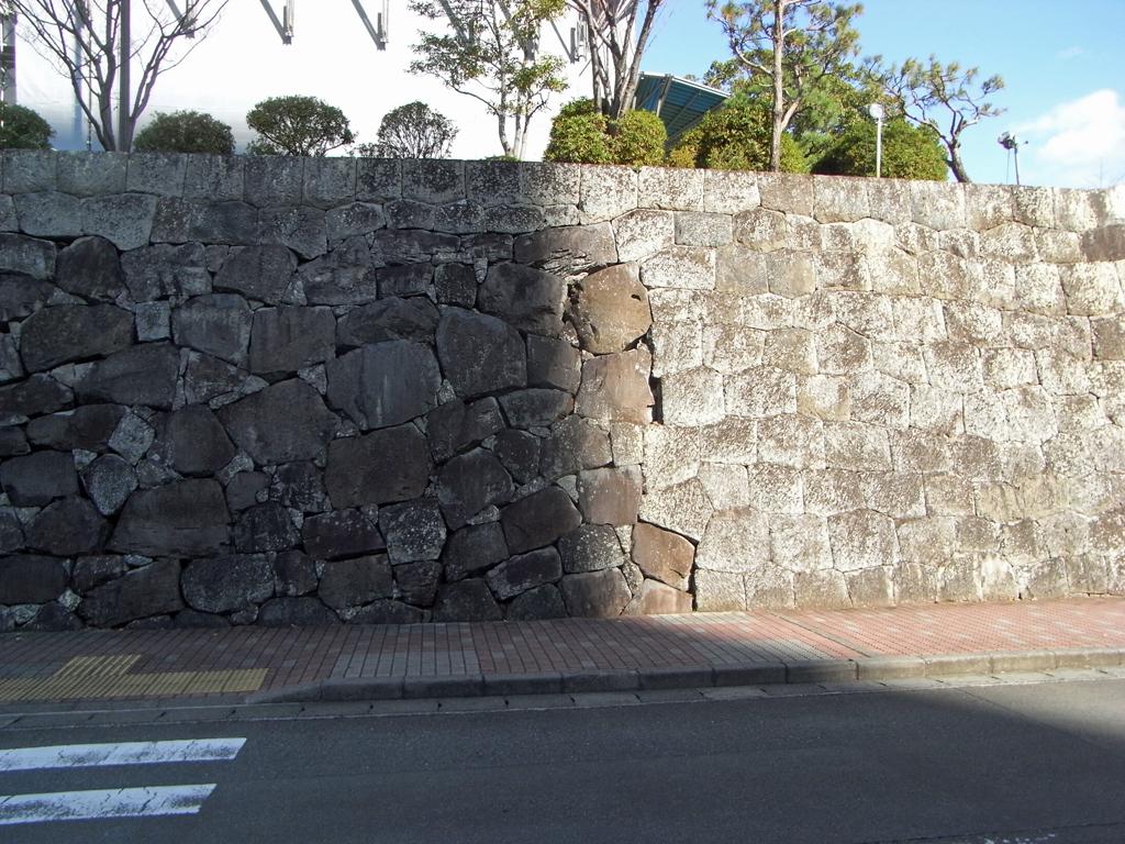 駿府城 大手門 石垣