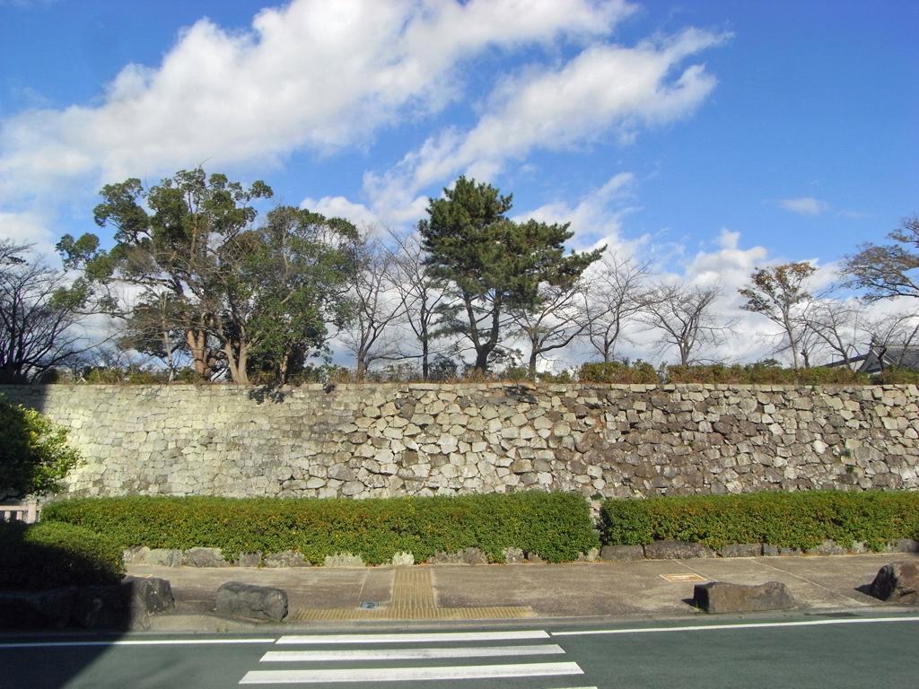 駿府城 二の丸堀