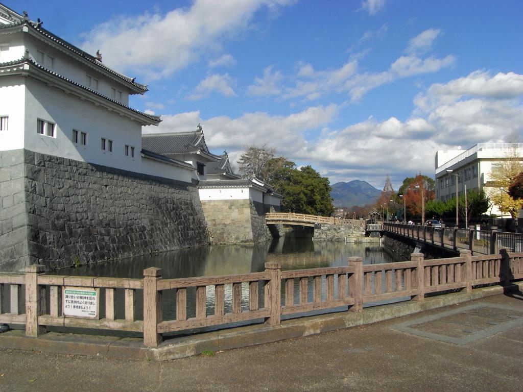 駿府城 二の丸堀 巽矢倉
