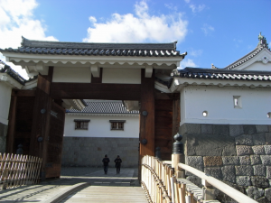 駿府城 二の丸堀 東御門