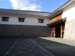 駿府城 東御門 桝形 櫓門