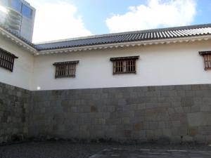 駿府城 東御門 桝形