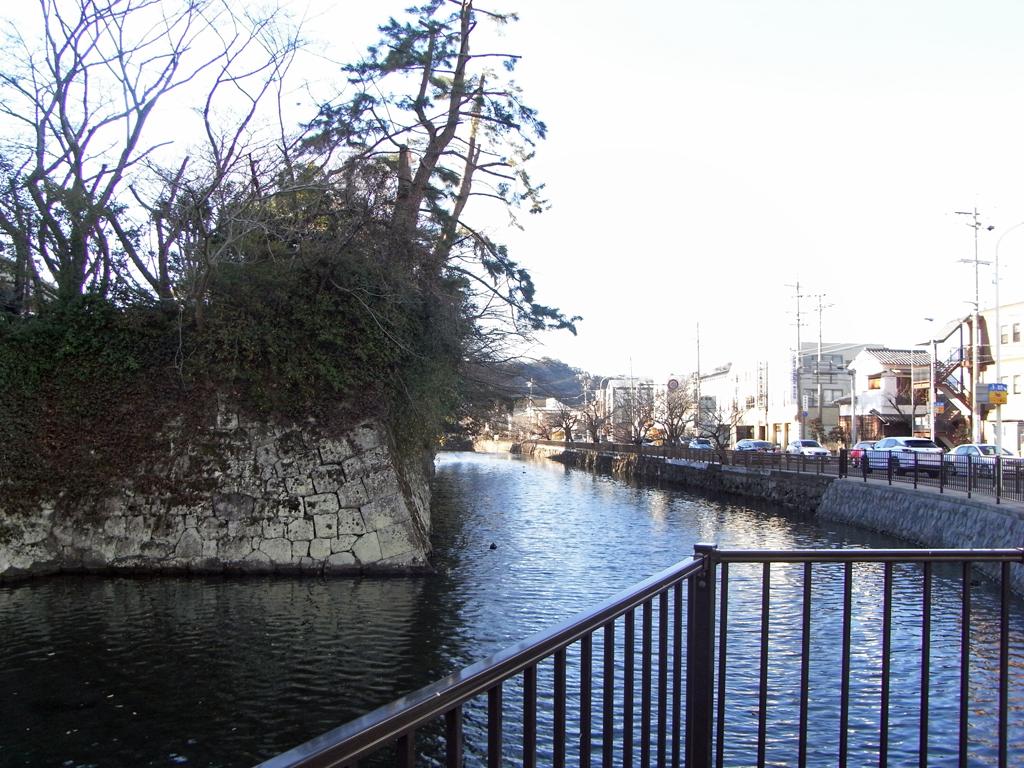 駿府城 外堀