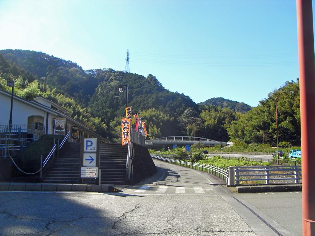 道の駅宇津ノ谷峠 下り