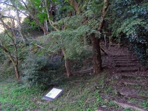 宇津ノ谷峠 登り口