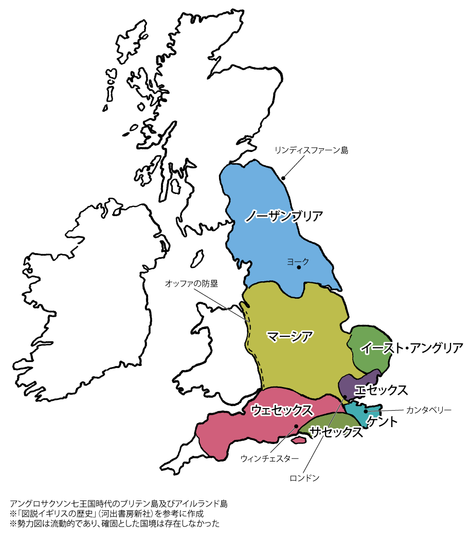 アングロサクソン七王国時代