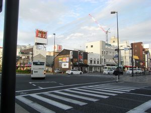 福知山駅前